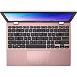 Asus E Series - 11,6' HD - Intel Pentium - Rose Pink - 8GB RAM - 370GB SSD - Windows 10 Pro #mit Funkmaus +Notebooktasche