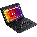 ACEPAD A130 Tablet 10,1 Zoll - Deutsche Marke - 4G LTE, 64GB Speicher, Octa-Core, Android 9.0 Pie, IPS HD, Wi-FI/Bluetooth/GPS - v2021 (Schwarz mit Tastaturtasche)